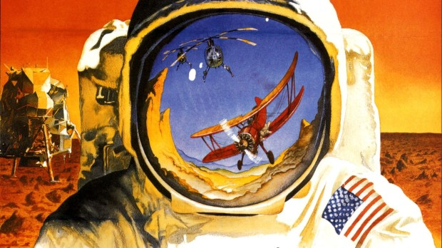 Un wallpaper ispirato al film Capricorn One